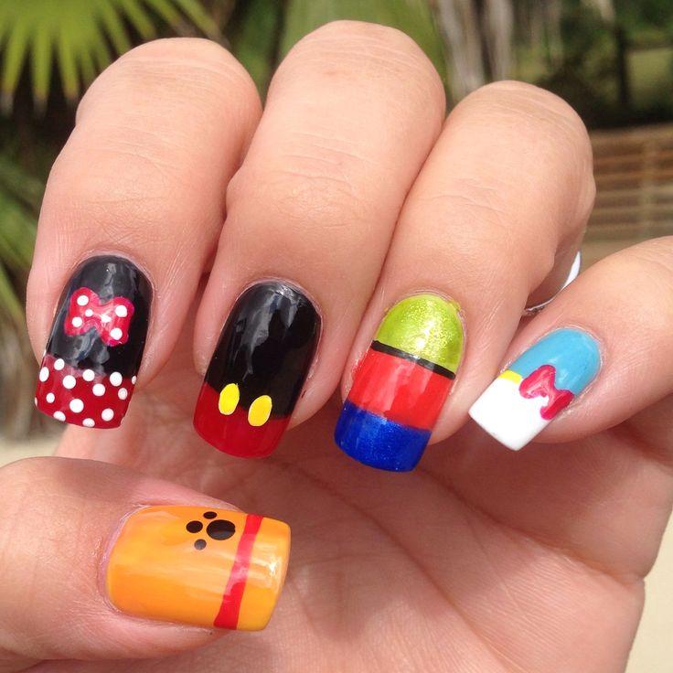 Disney Nail Designs: Disney Inspired Nail Art 3!