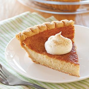 Hoosier Sugar Cream Pie | World of Temptations